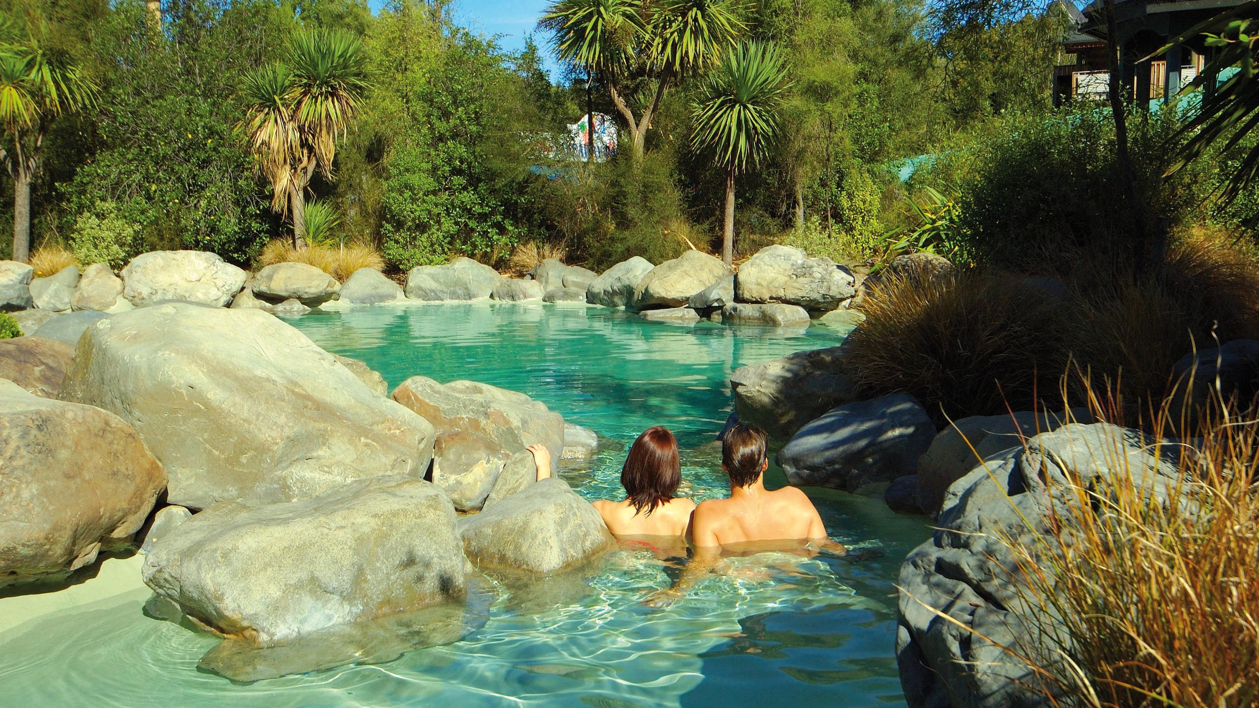 Hot springs Hanmer Springs New Zealand