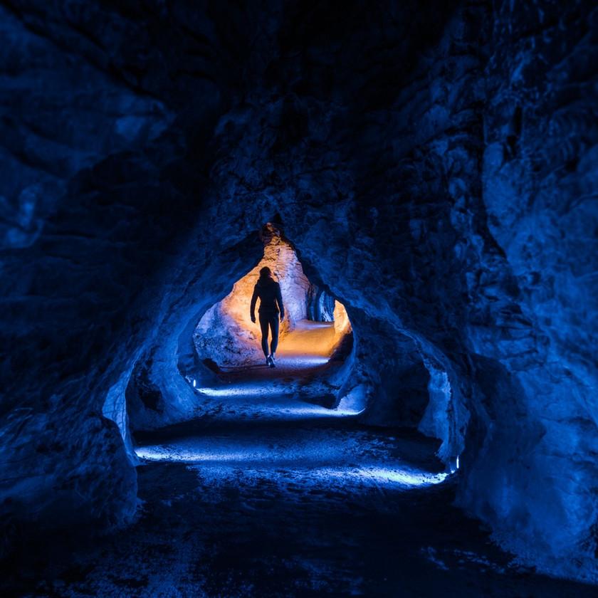 Waitomo Glowworm Caves, Ruakuri Cave and Aranui Cave
