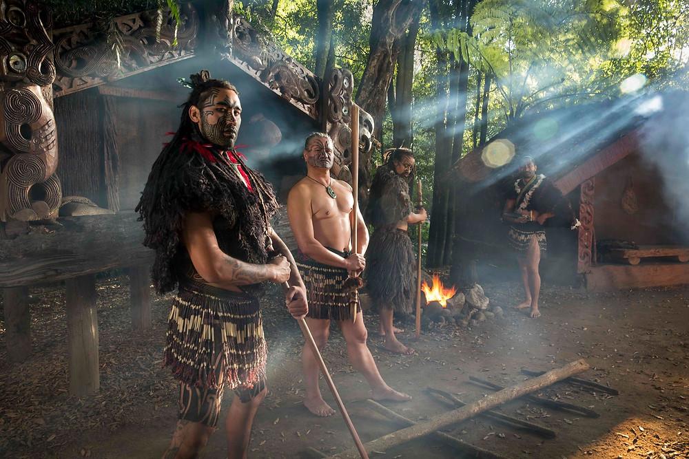 Tamaki Maori village, Rotorua, New Zealand tour, New Zealand itinerary