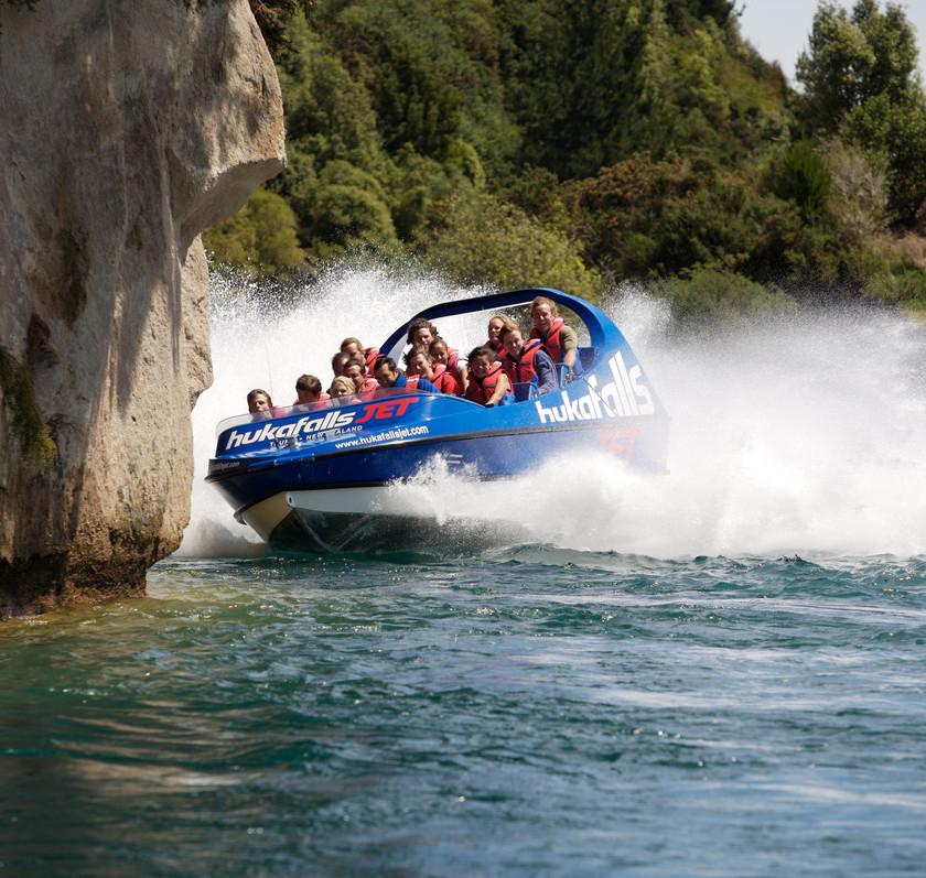 Huka Falls Jet Ride, Taupo