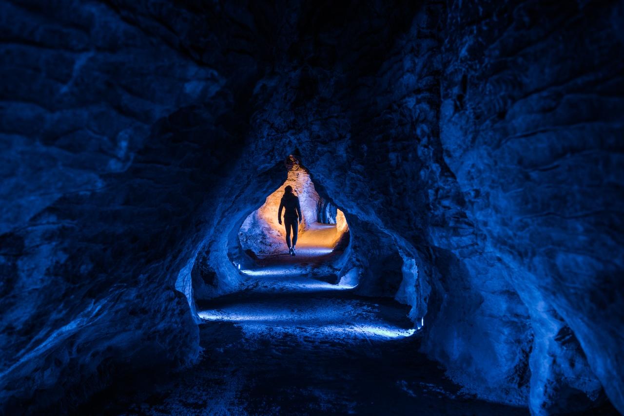 Ruakuri Cave Waitomo New Zealand
