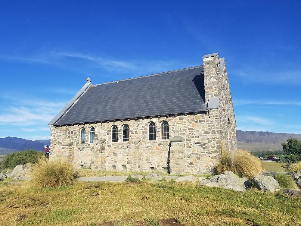 The Church of the Good Shepherd, lake Tekapo New Zealand