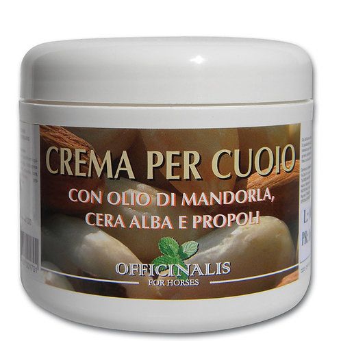 Officinalis  Crema Per Cuoio- Almond Leather Conditioning Cream