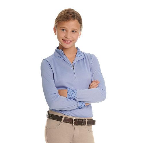 Ovation Child's Cool Rider Tech Long Sleeve Shirt