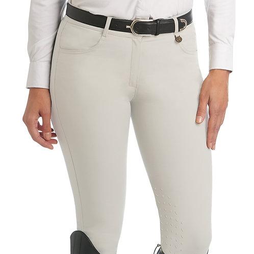 Ovation Aqua-X Silicone Knee Patch Breeches - Ladies'