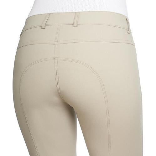 Ovation Aqua-X Silicone Knee Patch Breeches - Ladies' BEIGE