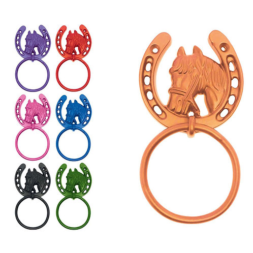 PerryEquestrian HorseShoe Tie Ring