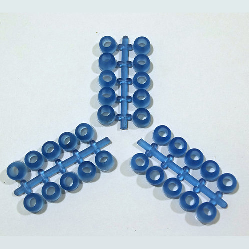 Eco Pure EZ Rubber Stud Plugs- Pack of 60