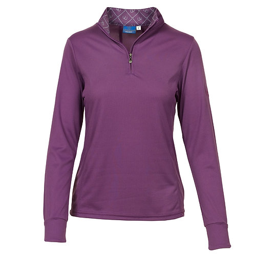 Ovation Ladies' Cool Rider Tech Shirt- Long Sleeve