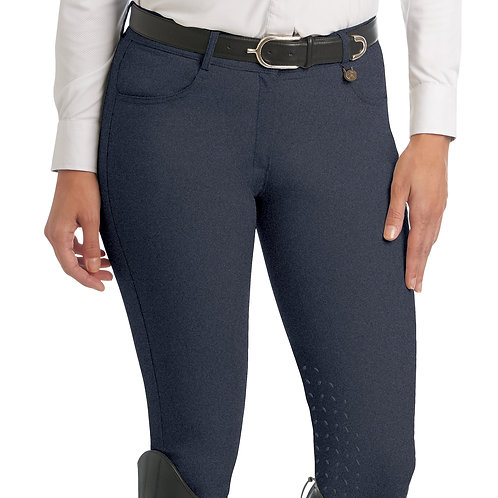Ovation Aqua-X Silicone Knee Patch Breeches - Ladies'
