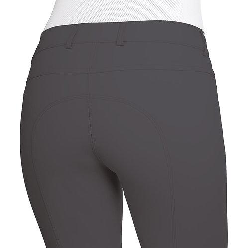 Ovation Aqua-X Silicone Knee Patch Breeches - Ladies' CHAR