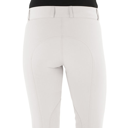 Ovation Celebrity EuroWeave DX Euro Seat Front Zip Knee Patch Breeches