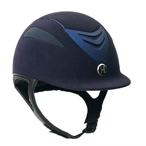 One K Defender- Suede Helmet - Navy Matte