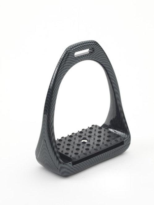 Compositi  Carbon Look Reflex 3D Swivel Action Wide Track Stirrups