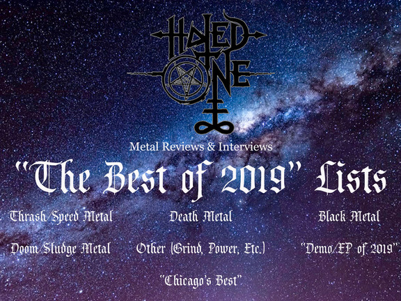 "Hated One Metal Reviews' ""The Best of 2019"" Lists"