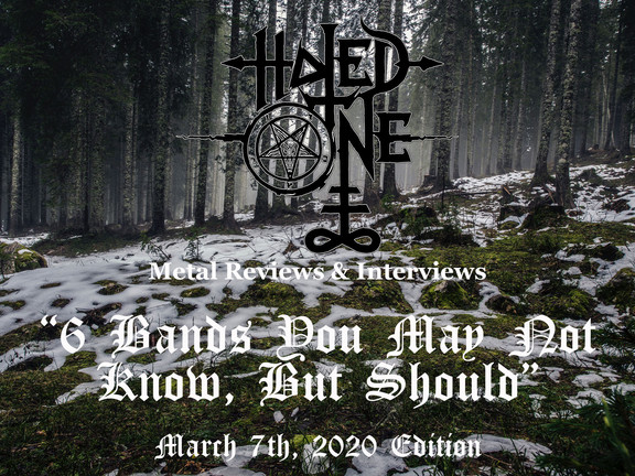 """6 Bands You May Not Know, But Should"" - March 7th, 2020 Edition"