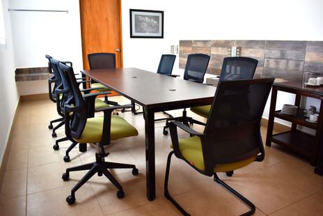 área de reuniones