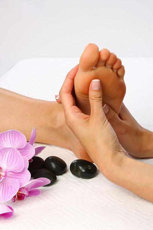 Traitement spa des pieds