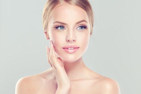 Maquillage de jour avec fixateur