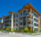 Modern apartment condominium