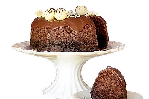 Chocolate Millionaires Bundt Cake