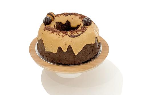 Caramel Chocolate Bundt Cake