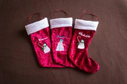 Chaussons de Noël personnalisés