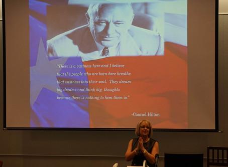 Marsha Hendler named a University of Houston Distinguished Alumni.