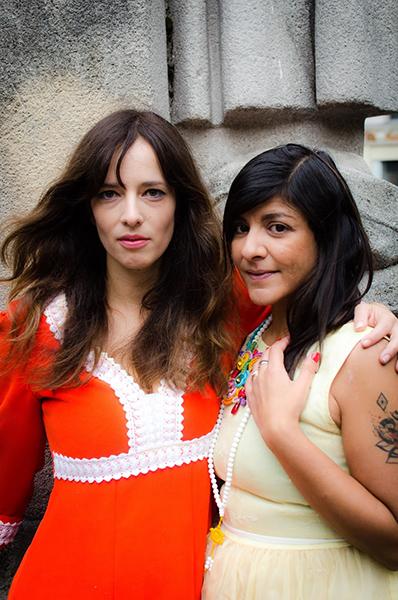 Lucie Monin et Yasmina Salmandjee