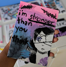 i'm stronger than you think 💜💪🏽✌🏽_.j