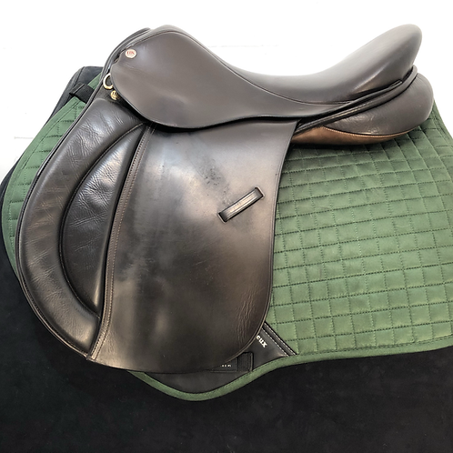 "UK SADDLES GP WH 18"" MEDIUM BROWN"