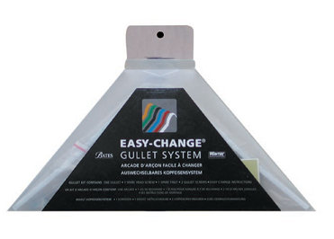 bates single easy change gullet system box packaging