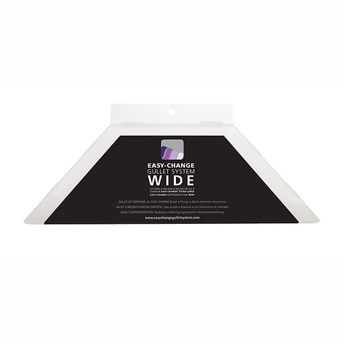 Wintec single gullet for wide range of saddles box front view