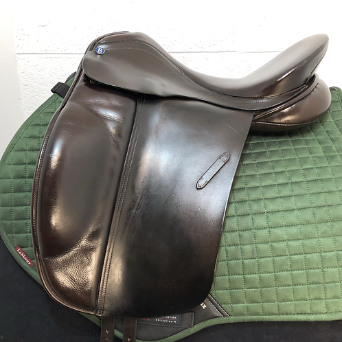 "BARNSBY DRESSAGE 17.5-18"" MEDIUM BROWN"