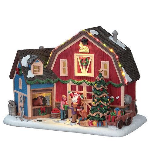 Navidad en la granja