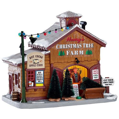 Granja de árboles de navidad