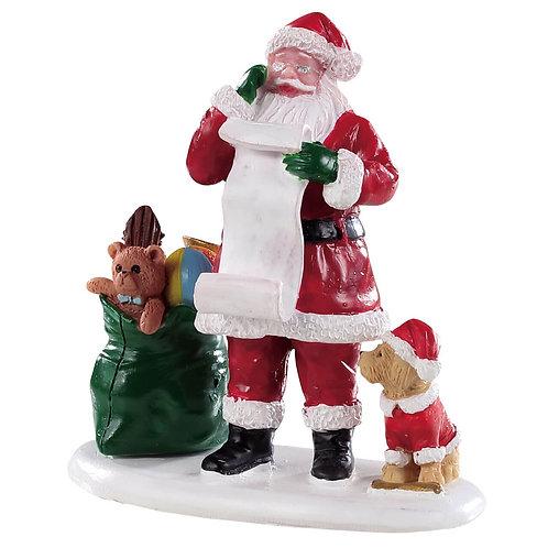 Naughty or nice santa