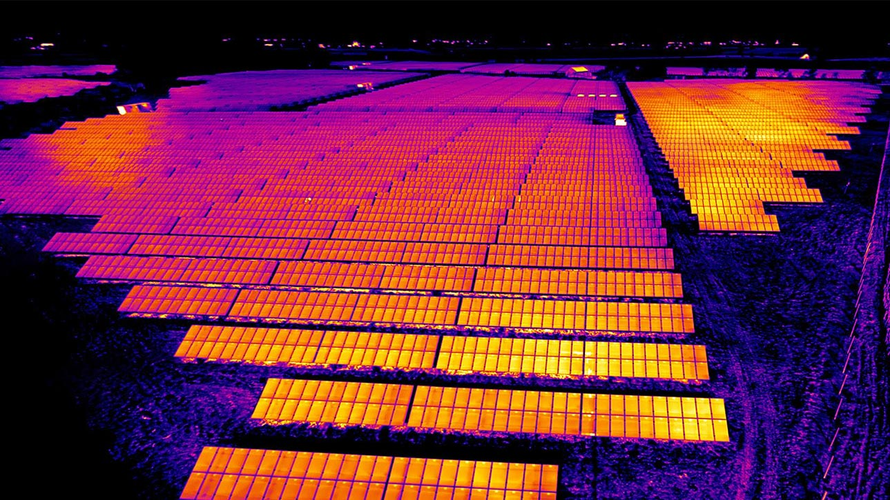 Solar plant inspections