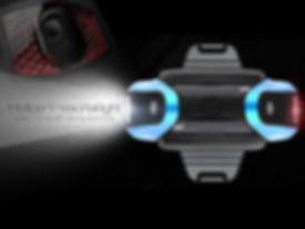 Elektrická jednokolka V3 výkonný LED světlomet