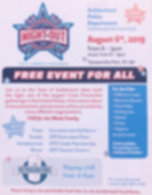GUILDERLAND POLICE NATIONAL NIGHT OUT 2019