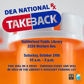 Drug Take Back Day 2020