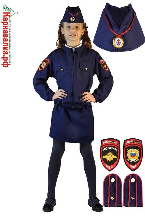 Полицейская детская форма дев.