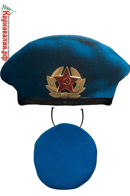 Берет ВДВ синий