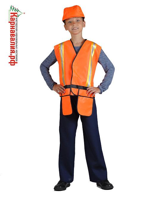 Строитель, костюм для мальчика