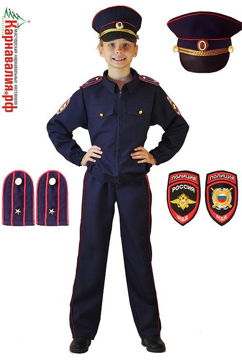 Полицейский детская форма мал.
