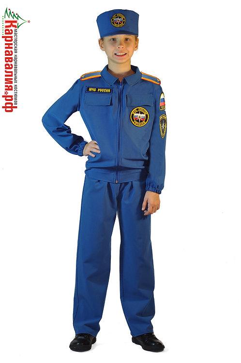 МЧС Спасатель костюм для мальчика опт