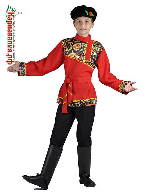 Хохлома, костюм для мальчика