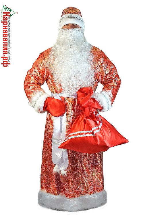 Дед Мороз (Парча) взрослый опт