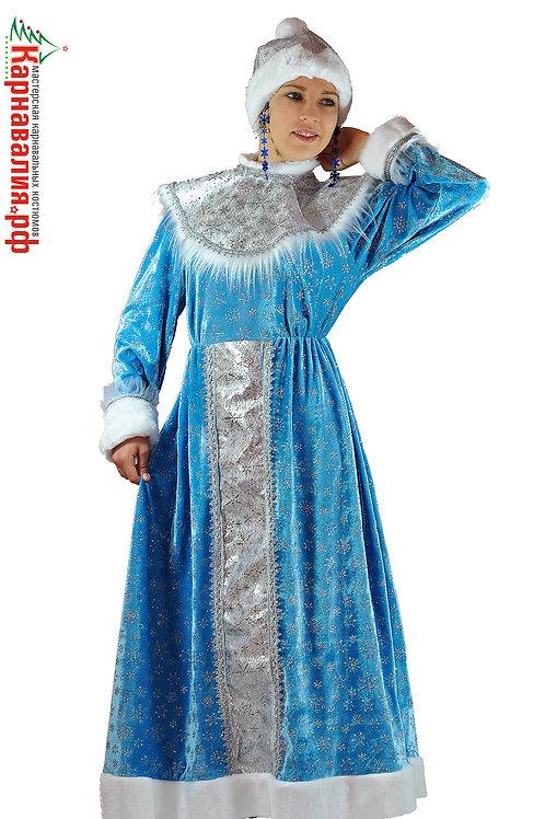 Снегурочка в платье взрослая опт