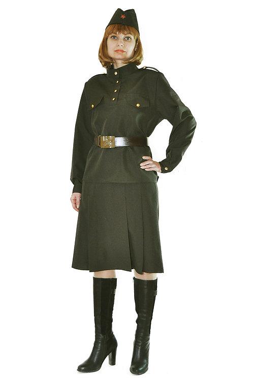Военный костюм женский опт